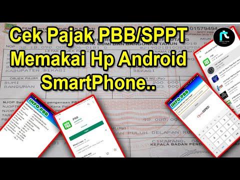 Cara Mudah Cek Pajak PBB/SPPT Menggunakan Android