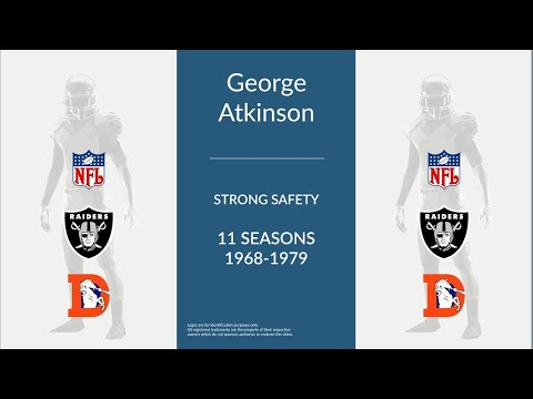 George Atkinson: Football Strong Safety