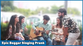 Epic beggar singing prank with twist| RDS Production | Prank in India