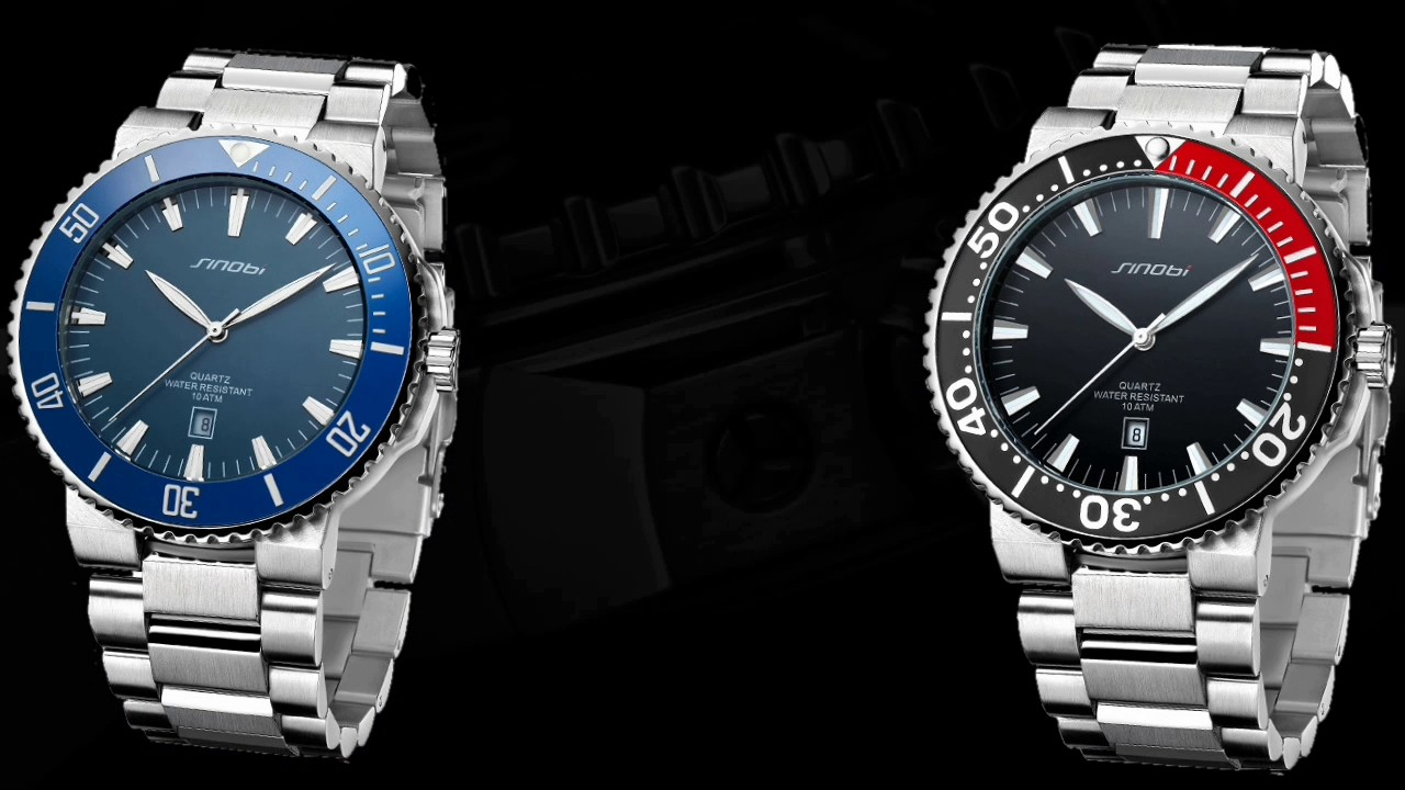 Sinobi Watch Rolex Homage - YouTube