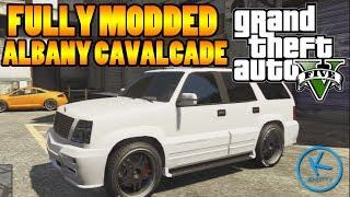 GTA 5 Fully Modified: ALBANY CAVALCADE (SPEAKER CAR)