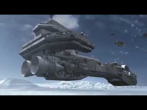 BATTLE OVER ANTARCTICA (Stargate SG-1) HD Season 7 Episode 22 The Lost City