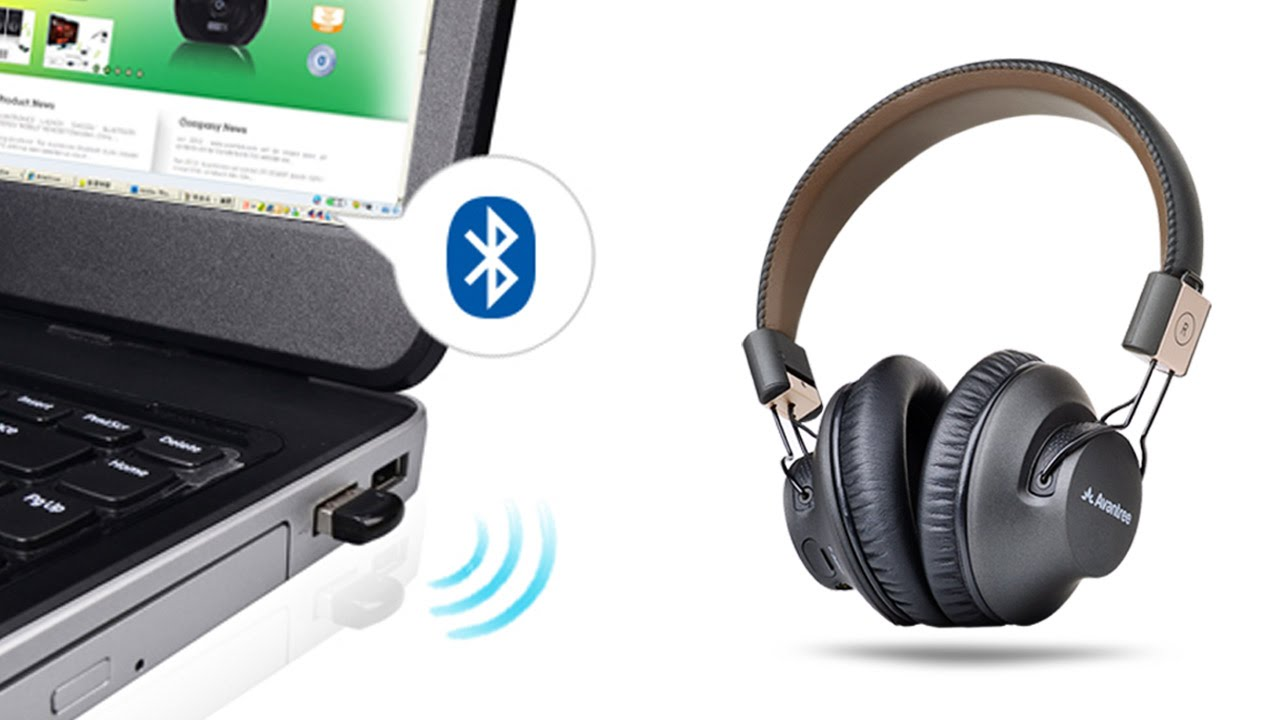 Avantree How To Bluetooth Headphones For Pc Connect With Bluetooth Dongle Dg40s Audition Pro Youtube