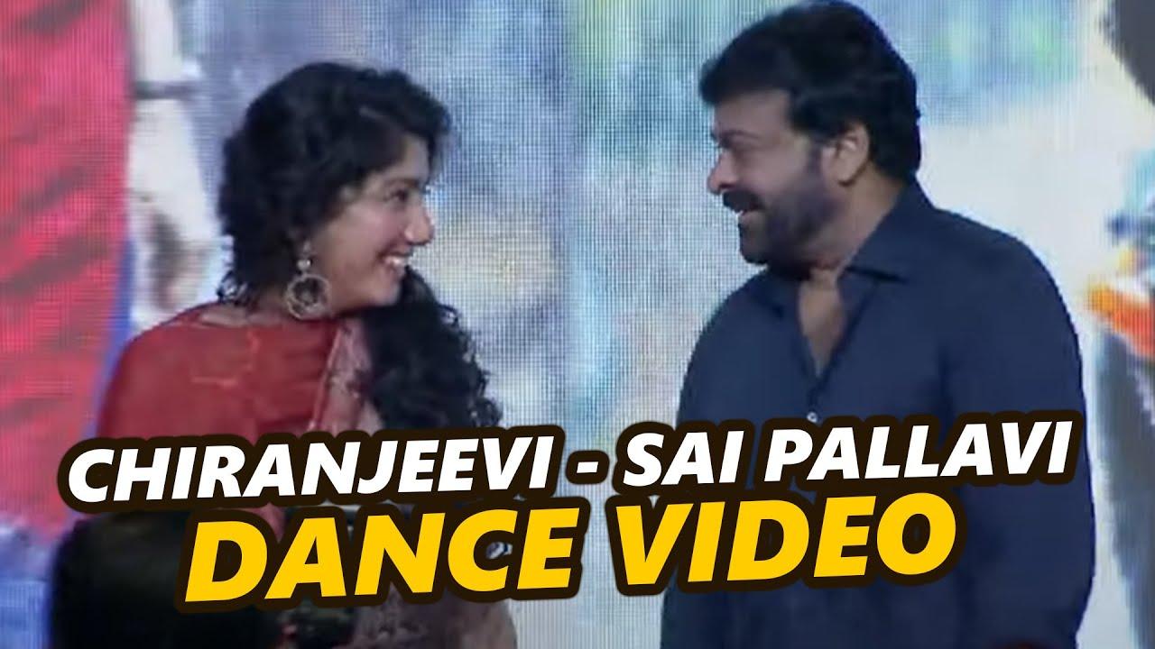 Download Chiranjeevi Sai Pallavi Dance Video At Love Story Pre Release Event   TFPC