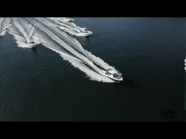 Jeanneau powerboats cruising in Australia