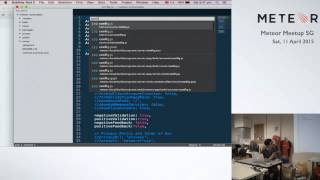 Meteor Show and Tell: Flow-Router in Boilerplate - Meteor Meetup April 2015