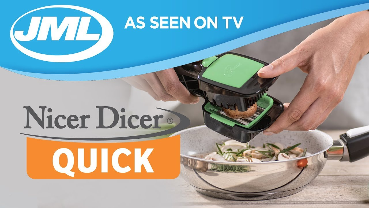 nicer dicer quick from jml youtube. Black Bedroom Furniture Sets. Home Design Ideas