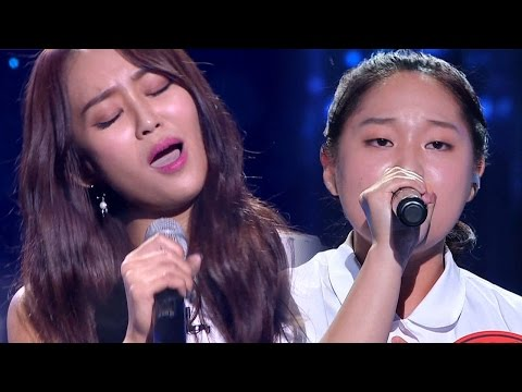 SISTAR show insane high note with Son Kyung Jin  in 'Crying' 《Fantastic Duo》판타스틱 듀오 EP14