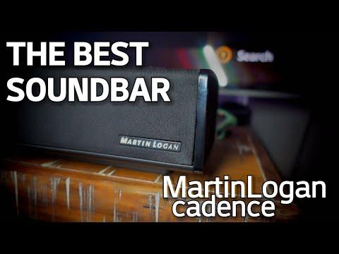 BEST SOUNDBAR - MartinLogan Cadence REVIEW