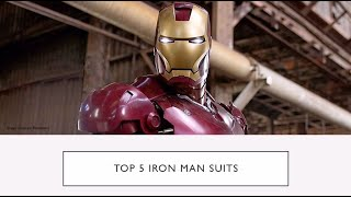 Top 5 Best Iron Man Suits