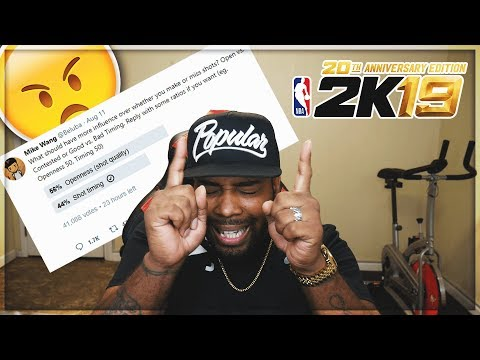 NBA 2K19 RANT! OPEN VS SHOT TIMING | DUDES WANNA GET BAILED OUT FOR BEING TRASH AT NBA 2K18
