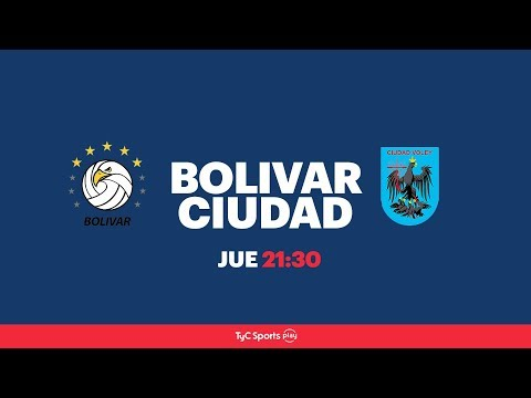 Liga Argentina: Personal Bolívar vs. Ciudad Voley l #VoleyEnTyCSports
