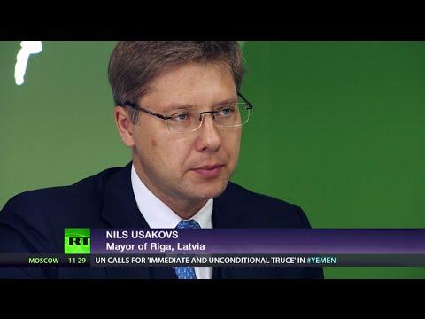 Riga-ining trust? (Ft. Nils Usakovs, Mayor of Riga)