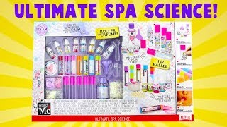 Project MC2 Ultimate Spa Science Kit! I Make Roller Perfume and Lip Balm!