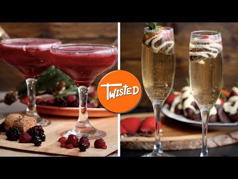 8 New Year's Eve Party Cocktail Ideas | Party Drink Recipes | Twisted