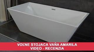 Voľne stojaca vaňa Amarila - VIDEO recenzia