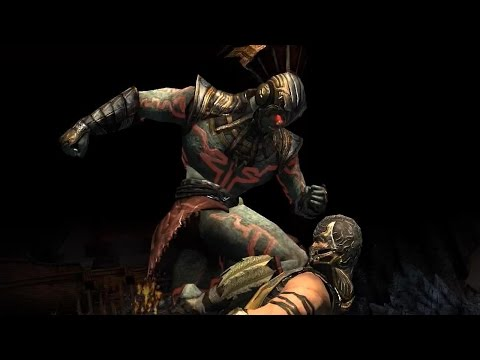 Mortal Kombat X - BLOOD GOD KOTAL KAHN X-Ray Attacks & Super Moves