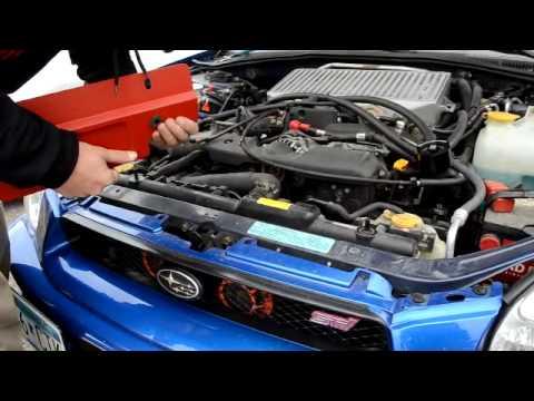 GrimmSpeed 096005 02-07 Subaru Impreza//WRX//STI Radiator Shroud w// Tray Black