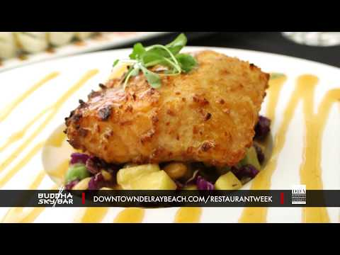 Buddha Skybar - Dine Out Downtown Delray Restaurant Week 2019
