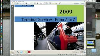 RDP7 vs Ericom Blaze - Typical 3G connection