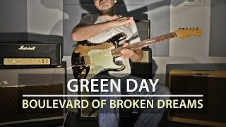 Green Day - Boulevard Of Broken Dreams - Electric Guitar Cover by Kfir Ochaion