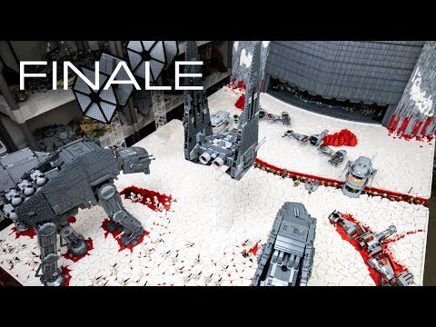 Building Crait in LEGO - The FINALE