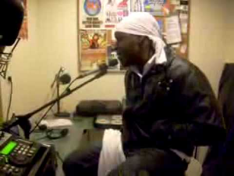 Jah Vinci First Time In NYC Radio Interview {Gaza 09}