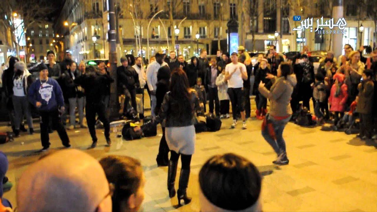 Hespress.com: Célébration aux Champs élysées