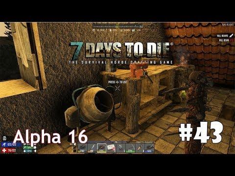 7 Days to Die (Alpha 16) #43 - Шипастая дубина и большая аптечка