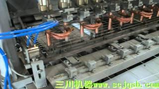 Pneumatic CNC light steel mesh machine - EQA