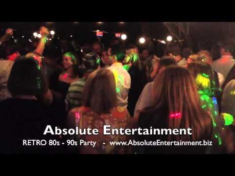 Absolute Entertainment RETRO Dance Party