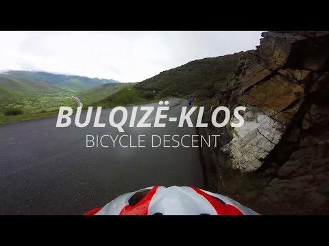 Albania, Bulqizë - Klos, sh6, bicycle descent / GoPro / SWOutdoor
