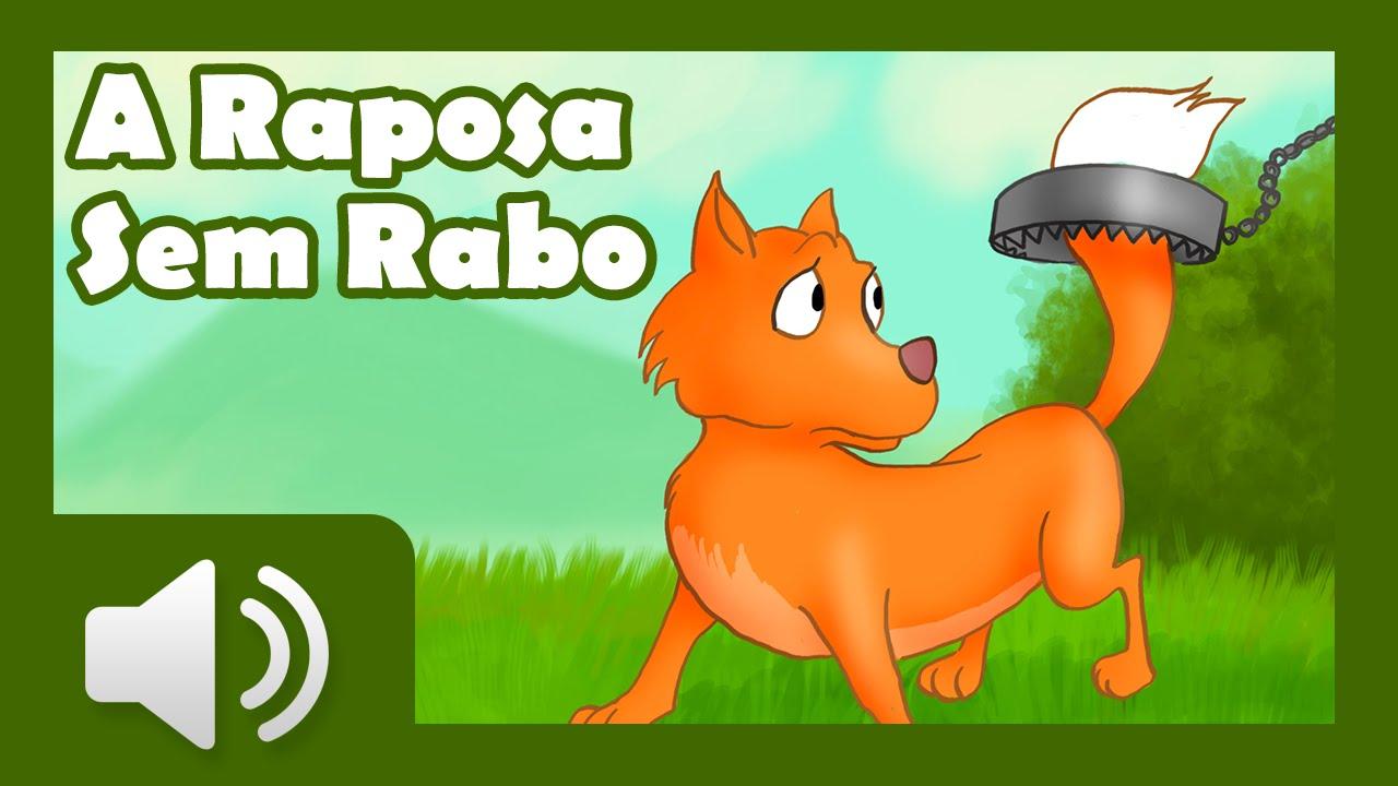 A Raposa Sem Rabo - Histórias infantis em português