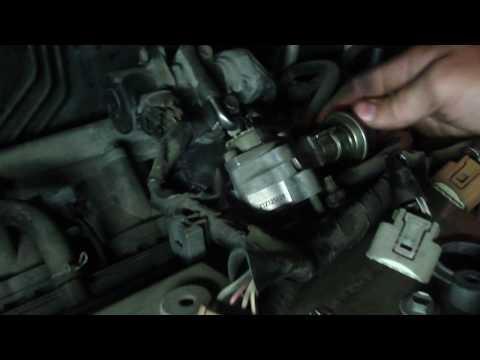 Замена цепи ГРМ 1AZ FSE Toyota VOXY часть 1