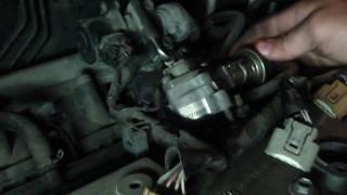 ГРМ шынжырын ауыстыру 1AZ-FSE Toyota VOXY 1-бөлім