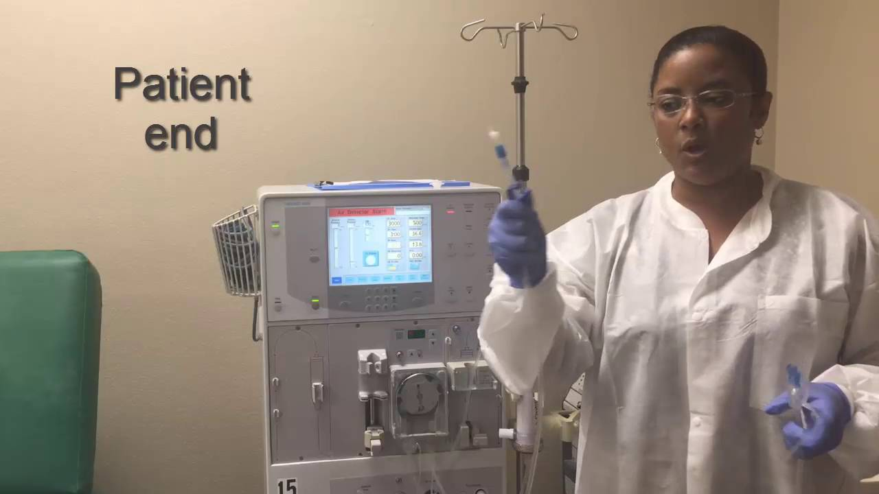 How to set up a Dialysis Machine part I (Hemodialysis Training)