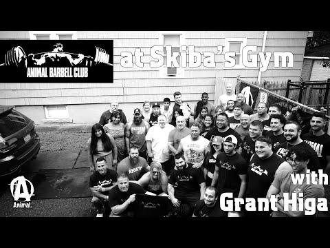 Animal Barbell Club (ABC) At Skiba's Gym With Grant Higa