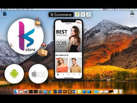 KStore - Complete React Native Template For IOS And Android -New Design 2019