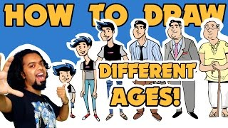 How to Draw Different Ages- CSD Ep. 6
