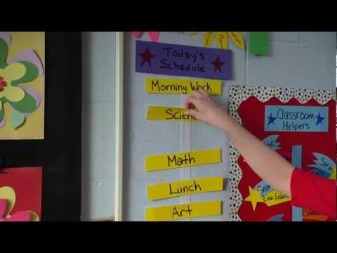 Organize Your Classroom with Velcro