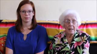 Living with Alzheimer's (Born in 1921)