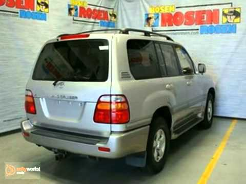 2000 Toyota Land Cruiser #K8890A1A in Milwaukee Waukesha, - SOLD