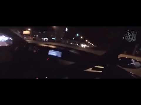 Дрифт по ночному городу на M5 E60 V10