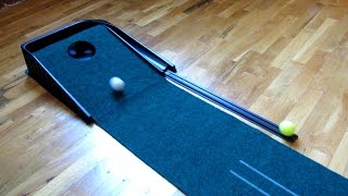Demo All Angles SKLZ Accelerator Pro Golf Putting Green Indoor Mat