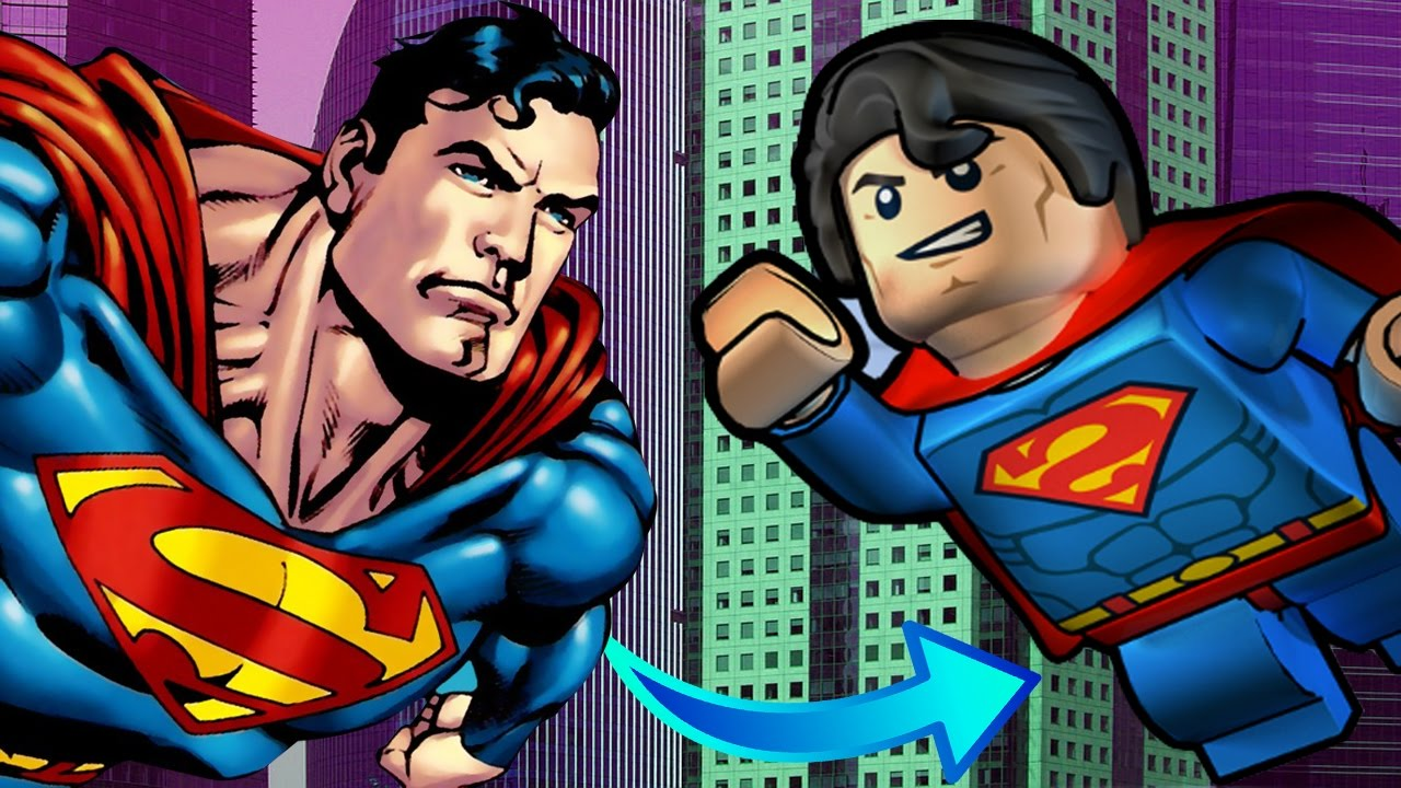 Superman coloring pages fun Transforms into Lego Superman Coloring ...