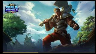 Novo jogo Battle Royale  - Realm Royale