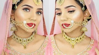 PAKISTANI/ INDIAN BRIDAL MAKEUP LOOK 2018 | SAIMASCORNER