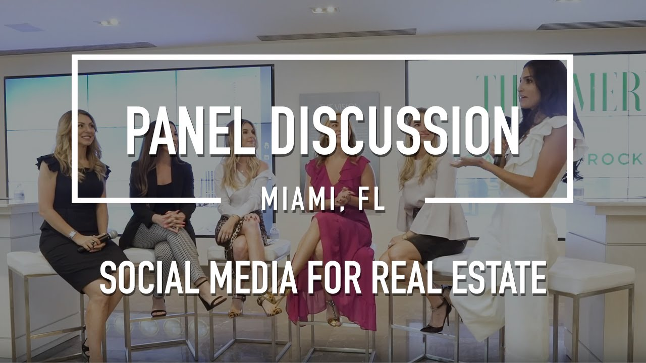 Social Media For Real Estate Agents Live Panel Discussion 2018 Full One Hour Video Youtube