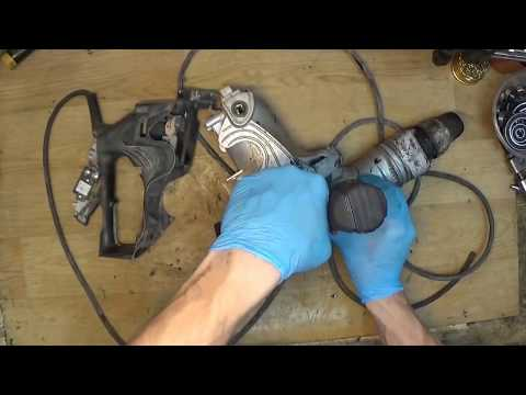 How to disassemble Hitachi DH40MR sds max hammer drill