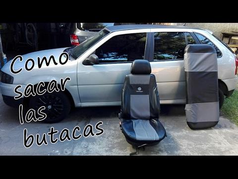 Como sacar desmontar butacas asientos de un volkswagen gol power youtube - Como quitar rayones del piso vinilico ...